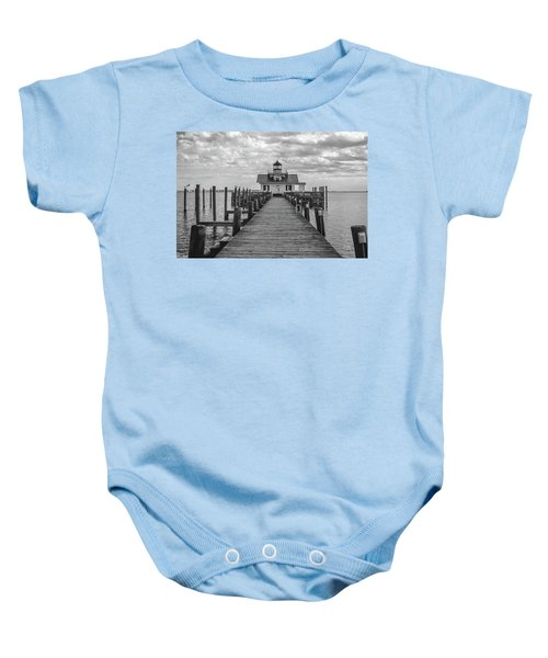 Roanoke Marshes Light Baby Onesie