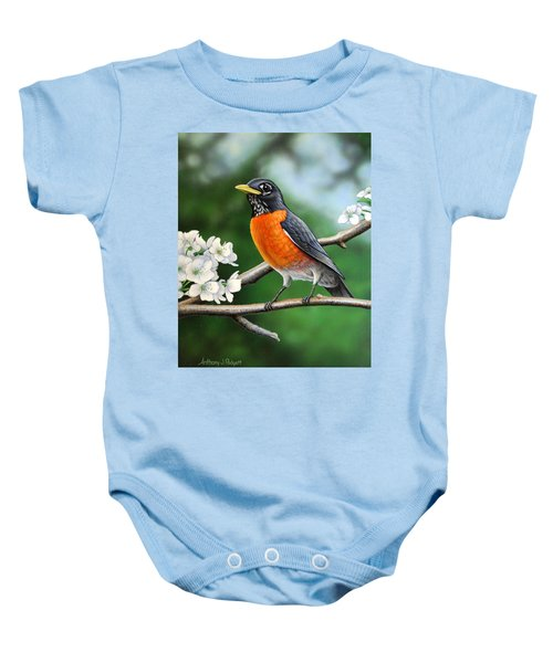 Robin Baby Onesie