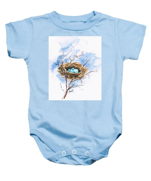 Robin's Nest Baby Onesie
