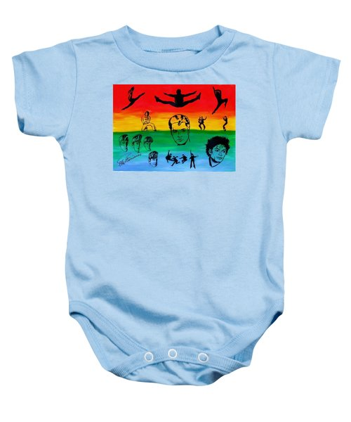 Rock And Roll Baby Onesie