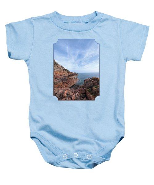Rocky Ocean Inlet - Jersey Baby Onesie