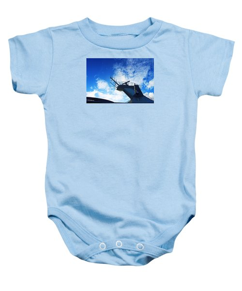 Royal Caribbean Cruise Baby Onesie by Infinite Pixels