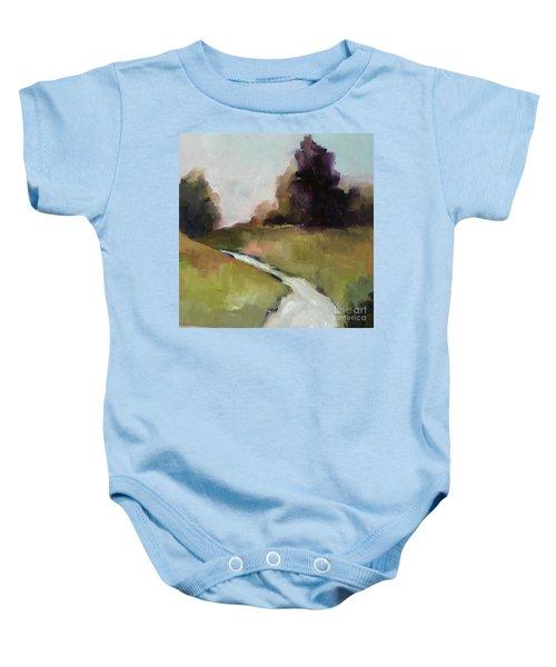 Running Stream Baby Onesie