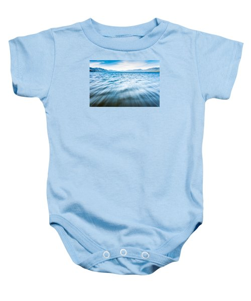 Rushing Away Baby Onesie
