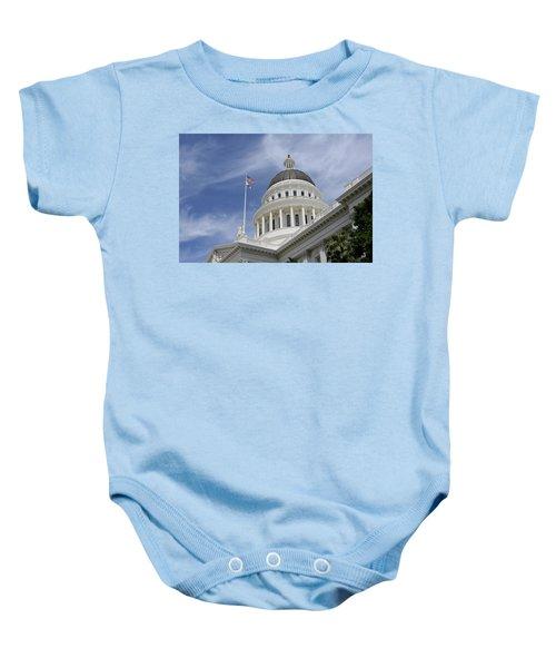 Sacramento Capitol Building Baby Onesie