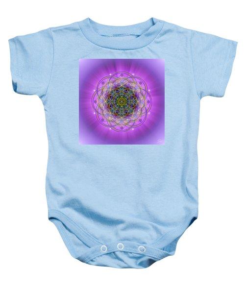 Sacred Geometry 715 Baby Onesie