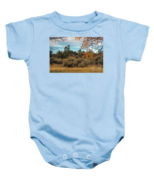 Sagebrush And Lava Baby Onesie