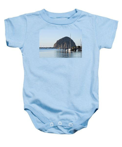 Sailboats In Morro Bay Baby Onesie