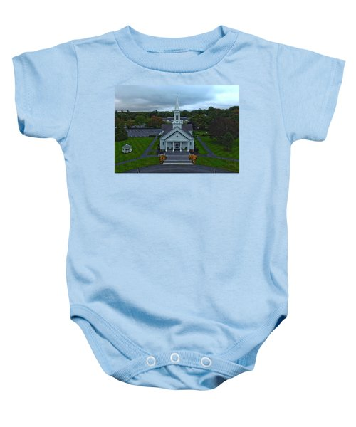 Saint Mary's Church From Above Baby Onesie