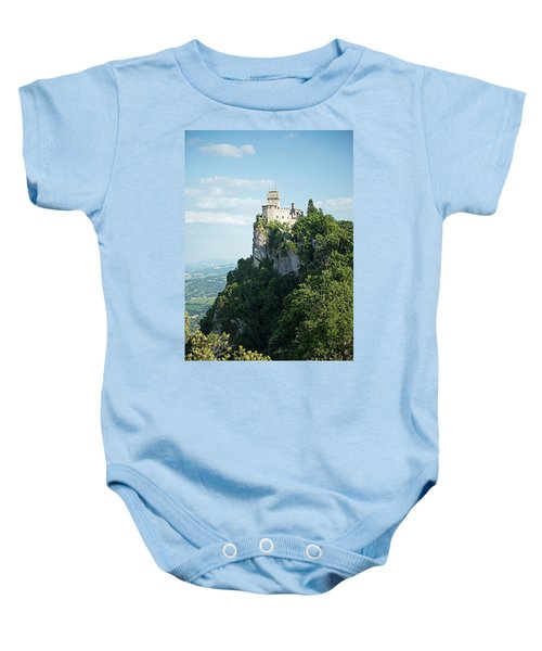 San Marino - Guaita Castle Fortress Baby Onesie
