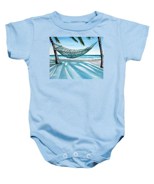 Sand And Shadows Baby Onesie