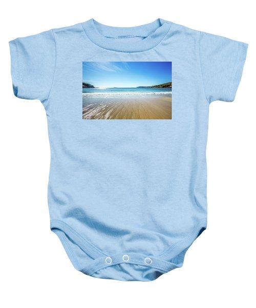 Sand Beach Baby Onesie