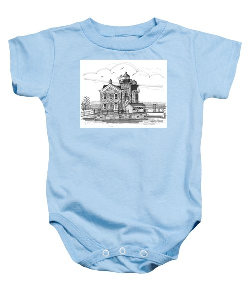 Saugerties Lighthouse Baby Onesie
