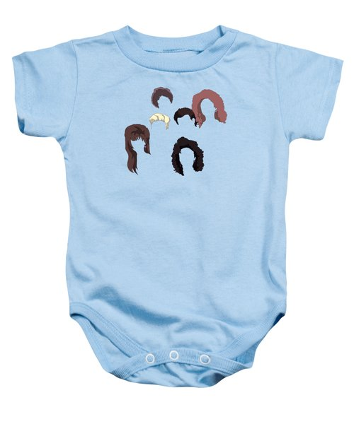 Saved By The Hair Baby Onesie