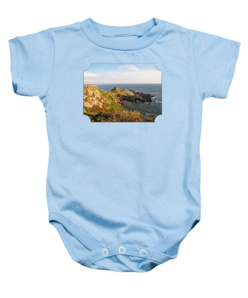 Scenic Coastline At Corbiere Baby Onesie