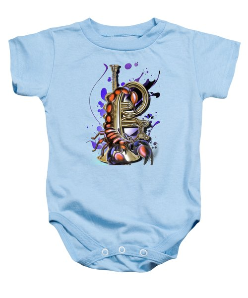 Scorpio Baby Onesie