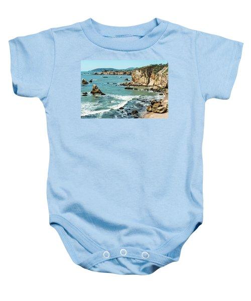 Sea And Cliffs Baby Onesie