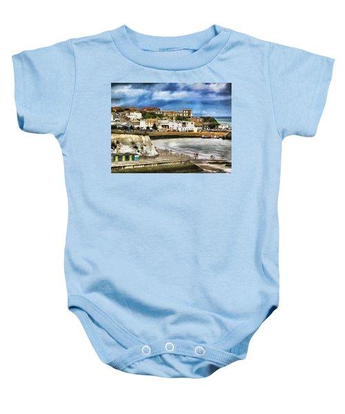 Seafront Broadstairs Kent Baby Onesie