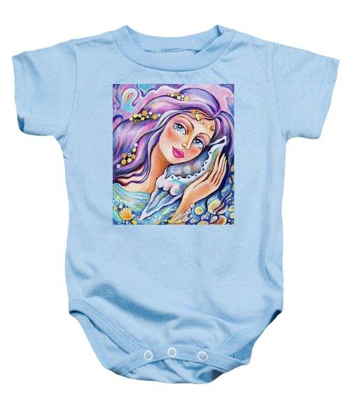 Seashell Reverie Baby Onesie