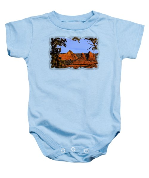 Sedona Red Rocks Baby Onesie