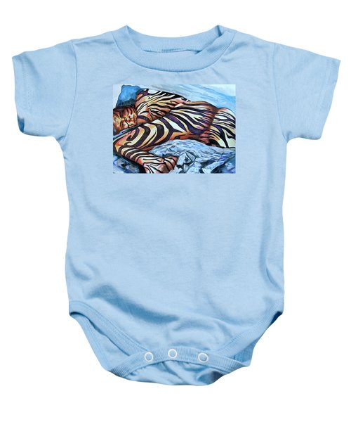 Seduction Of Stripes Baby Onesie