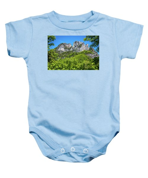 Seneca Rocks Baby Onesie