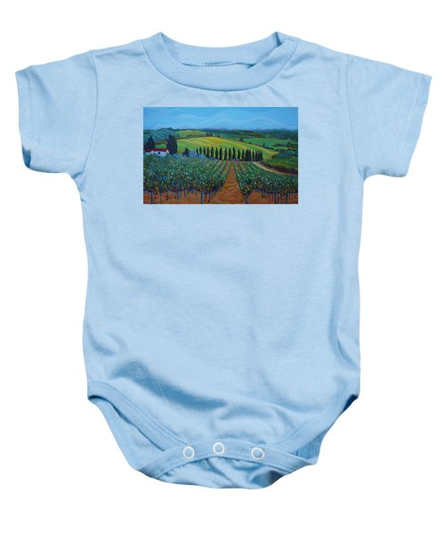 Sentrees Of The Grapes Baby Onesie