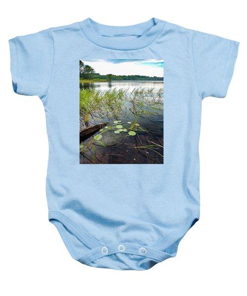 Serenity Along The Hudson Baby Onesie