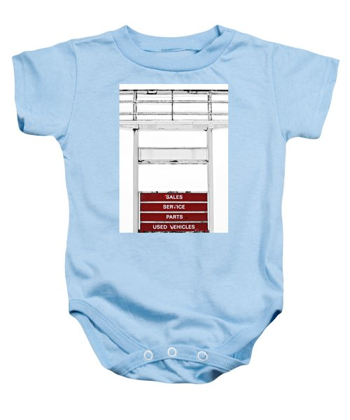 Baby Onesie featuring the photograph Services Rendered by Stephen Mitchell