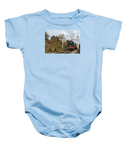 Signaling The Change Baby Onesie