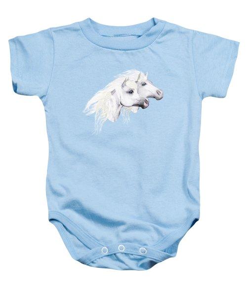 Silver Manes Baby Onesie