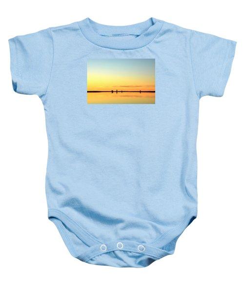 Simple Sunrise Baby Onesie
