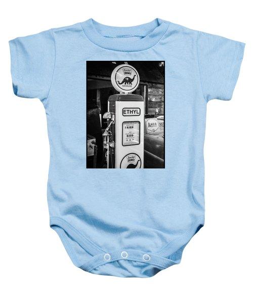 Sinclair Dino Gas Pump Baby Onesie