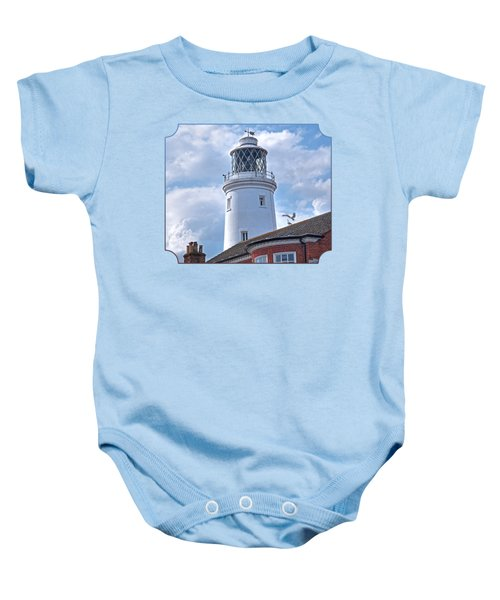 Sky High - Southwold Lighthouse Baby Onesie by Gill Billington