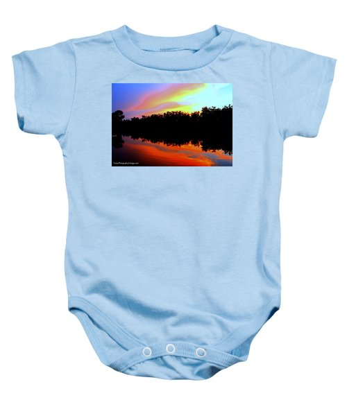 Sky Painting Baby Onesie