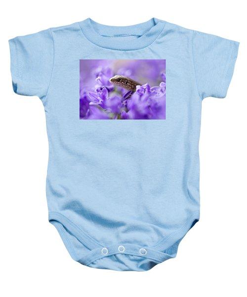 Small Lizard Baby Onesie