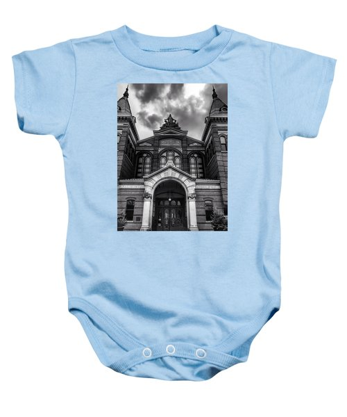 Smithsonian Arts And Industries Building Baby Onesie