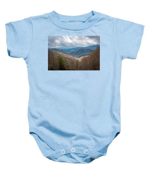 Smoky Mountains Baby Onesie