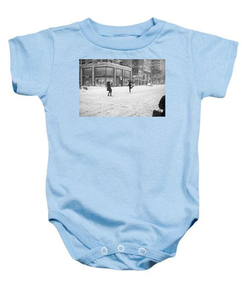 Snow Dance - Le - 10 X 16 Baby Onesie