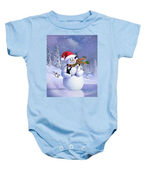 Snowman Baby Onesie