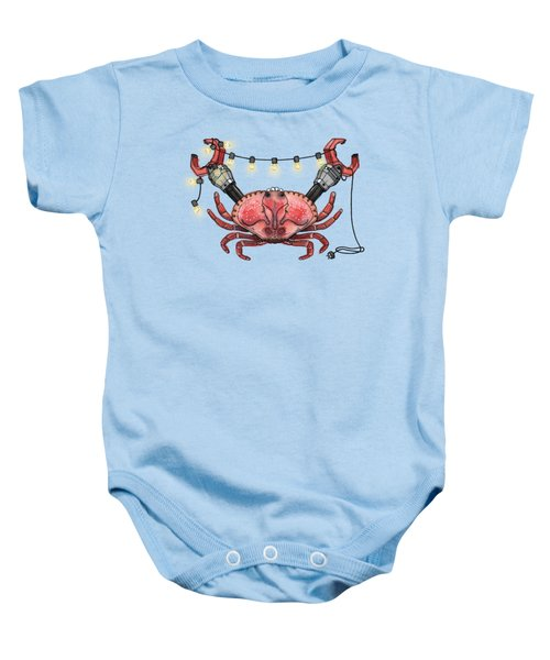 So Crabby Chic Baby Onesie by Kelly Jade King