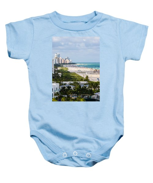 South Beach Late Afternoon Baby Onesie
