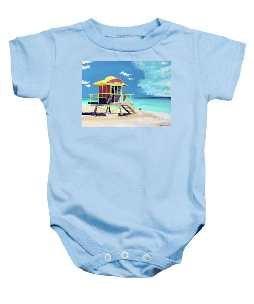 South Beach Baby Onesie