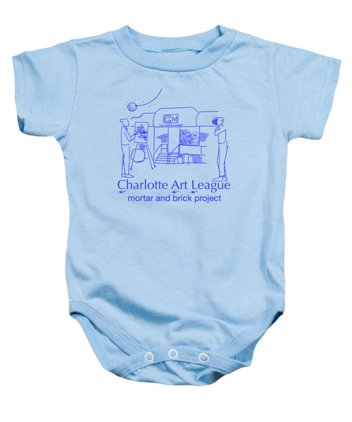 South End Of The Common Market With Text Baby Onesie