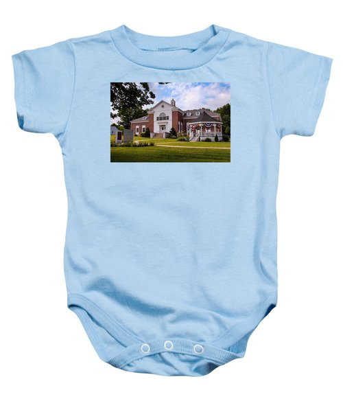 Southampton, Ma Town Hall Baby Onesie