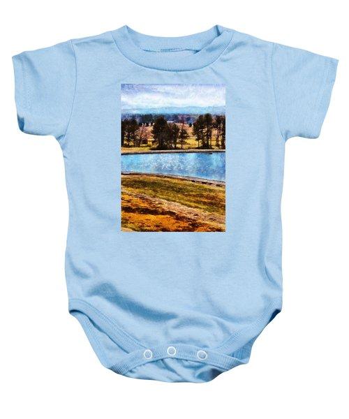 Southern Farmlands Baby Onesie