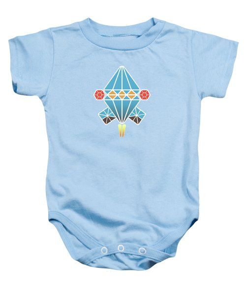 Spacecraft Baby Onesie