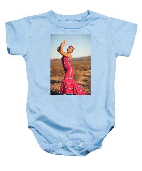 Spanish Dancer Baby Onesie