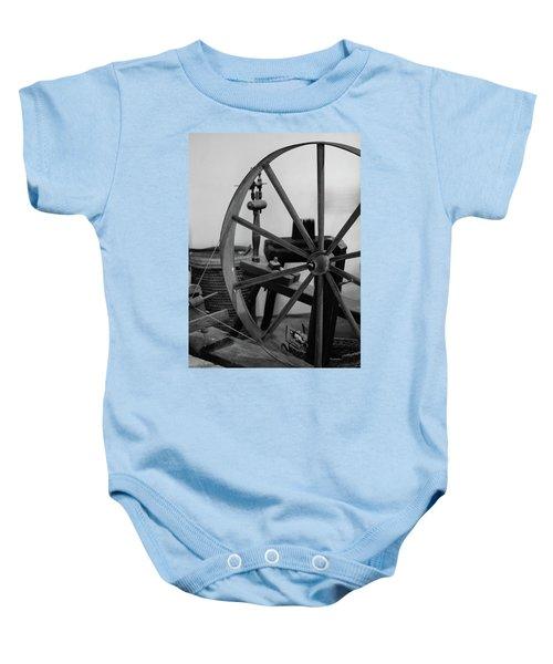 Spinning Wheel At Mount Vernon Baby Onesie