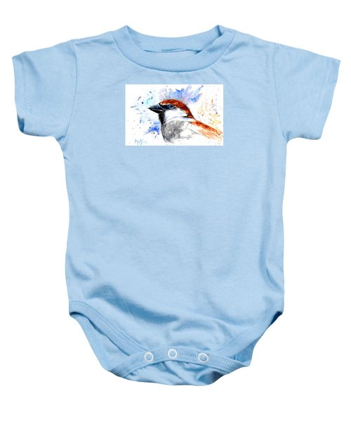 Splendid Sparrow Baby Onesie
